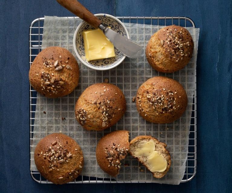 Keto bread with oat fiber