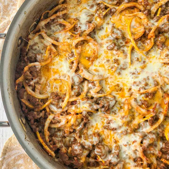 Keto recipe with ground beef